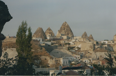 Goreme - people live there.